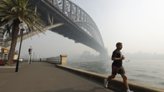 Murray Olds: Smoke blankets Sydney as wildfires spread across Australia