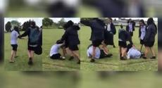 Teen violently beaten in horrific school bullying video