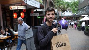 Restaurants and Catering Australia, which represents 15,000 eateries, is pleading with the public to stop using Uber Eats. File photo / Doug Sherring.