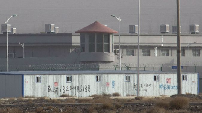 A facility in the Kunshan Industrial Park in Artux one of a growing number of internment camps in the Xinjiang region. (Photo / AP)