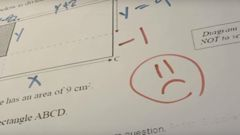 NZQA has admitted there was an error in the question's design. Photo / Supplied via RNZ Youtube