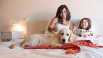 Kate Hawkesby: Yes our dog sleeps in our bed - what's the big problem?