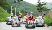 Skyline's luge in Tong Yeong, South Korea. Photo / Supplied