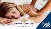 RANDOM ACTS OF CHRISTMAS WITH CHAMPS-ELYSEES DAY SPA!