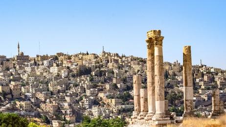Mike Yardley: Capital highs in Jordan's Amman