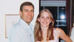 Prince Andrew and Virginia Giuffre, then known as Virginia Roberts, at Ghislaine Maxwell's (right) London apartment. (Photo / Supplied)