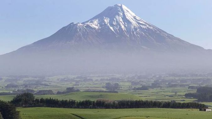 The mountain will no longer be known as Mt Egmont. (Photo / NZ Herald)
