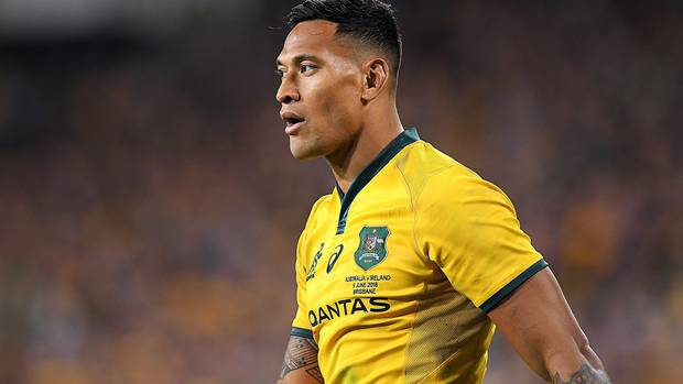Israel Folau settles dispute with Rugby Australia in confidential settlement
