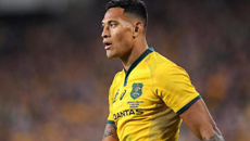 Israel Folau settles with Rugby Australia