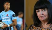 Raelene Castle has not closed the door on Israel Folau. (Photo / NZ Herald)