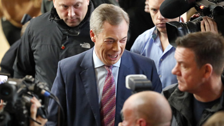 Vincent McAviney: Nigel Farage's Brexit Party hit by split a week before election