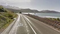 SH1 blocked after major crash north of Kaikoura