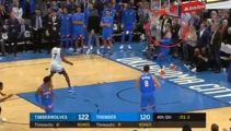 'Play of the year': Steven Adams' miracle finish stuns basketball world