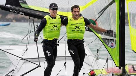 Peter Burling and Blair Tuke overcome dramatic start to win world championships