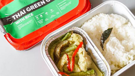 AirAsia opens plane food restaurant serving in-flight meals