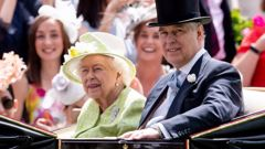 Queen Elizabeth II and Prince Andrew. (Photo / Getty Images)