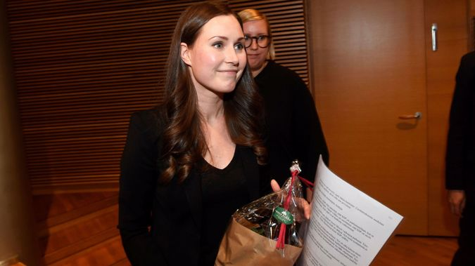 34-year-old Sanna Marin is set to become the world's youngest sitting prime minister. (Photo / AP)