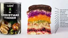 """UK tech retailer GAME has released a Christmas """"tinner"""" - a festive feast for gamers on the go. Photo / GAME"""