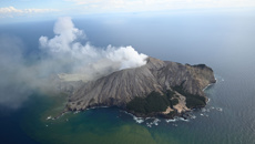 Scientists say White Island could erupt again.