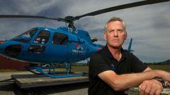 Chief pilot for Volcanic Air Safaris Tim Barrow. Photo / Ben Fraser