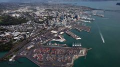 The Government has made an announcement on the future of the Auckland port. Photo / Michael Craig