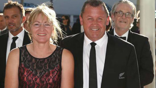 Ian Foster reveals wife's hilarious reaction to All Blacks role