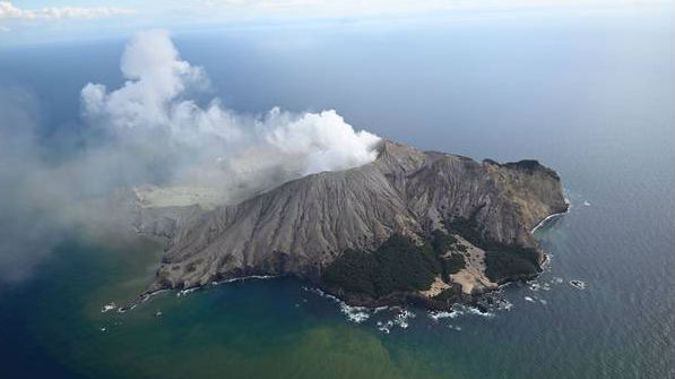 White Island shortly after the eruption. (Photo / George Novak)