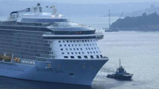 Ovation of the Seas arrives back in Sydney after White Island volcano disaster