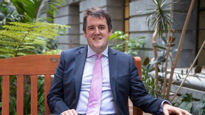 National's transport spokesman Chris Bishop. (Photo / NZ Herald)