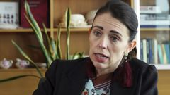 Jacinda Ardern made the announcement today. (Photo / AP)