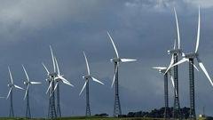Wind turbines. (Photo / NZ Herald)