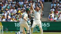 Day two of the test between New Zealand and Australia. Video / Sky Sport