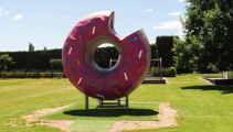 Hidden Spots: Springfield's giant donut