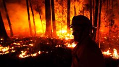 Wildfires continue to burn out of control in Australia. (Photo / Getty)