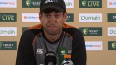 'This is for you': Emotional Ross Taylor in tears after third test