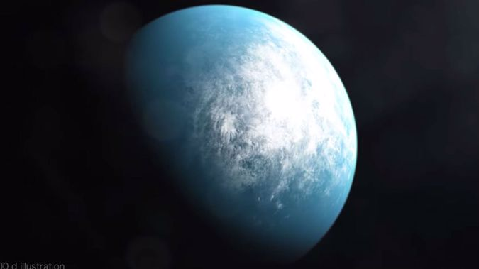 TOI 700 d is the first potentially habitable Earth-size planet spotted by NASA's planet-hunting TESS mission. (Photo / NASA)