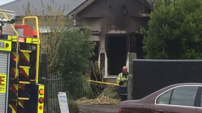 The house is described as looking like a shell. (Photo / Newstalk ZB)