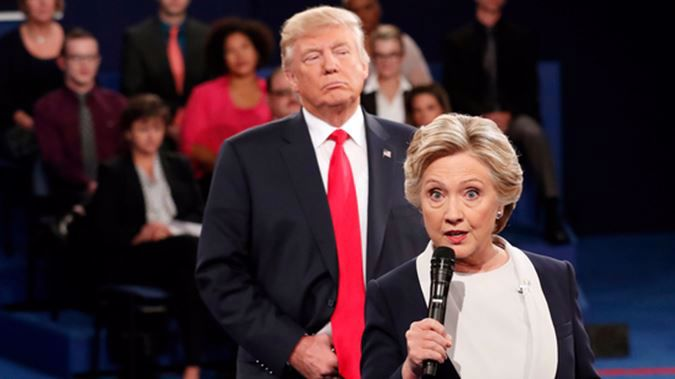 Donald Trump's push to find out Hillary Clinton's wrongdoings have failed - though no one is talking about it. (Photo / AP)