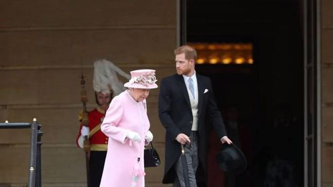 Her Majesty spoke of her deep regret at Harry and Meghan's decision to quit as senior Royals. (Photo / Getty Images)