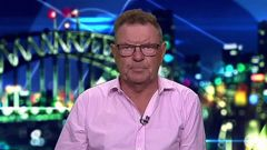 Steve Price was grilled by his co-hosts as he apologised. Photo / Channel 10