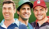 Stephen Fleming, Andy Lee and Richie McCaw.