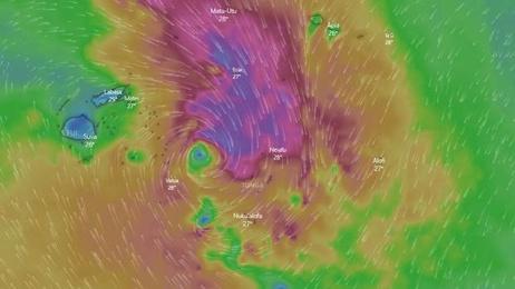 Two missing in Fiji as Cyclone Tino intensifies