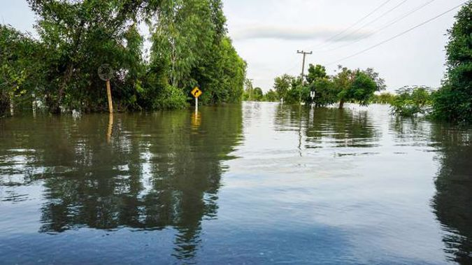 300mm of torrential rain bucketed down on southeast Queensland overnight. Photo/ 123RF