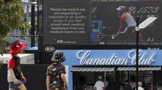 Air quality concerns hangs over Australian Open