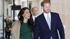 Harry and Meghan may have to rely on money from the Duchy of Cornwall. (Photo / AP)