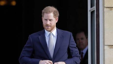 'We're not walking away': Harry takes aim at media in emotional speech