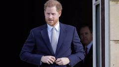 Harry has promised to continue to serve. Photo / AP