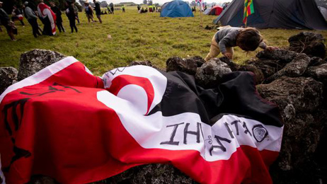 'We are really relieved': Deal on Ihumātao 'hours away' Pania Newton says