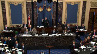 Impeachment trial: Republicans vote against allowing witnesses