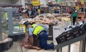 'Blood everywhere': Police tend to messy arrest in Auckland supermarket